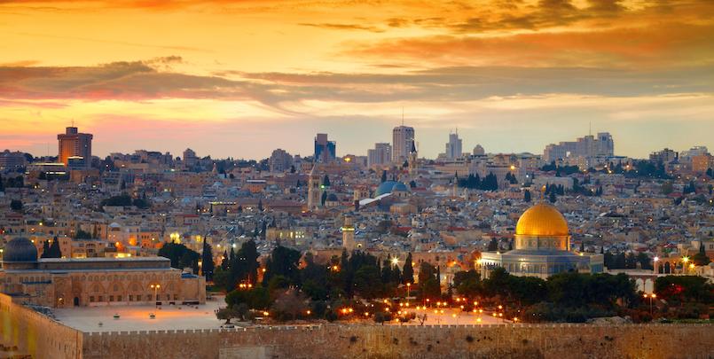 Israël en Palestina reis