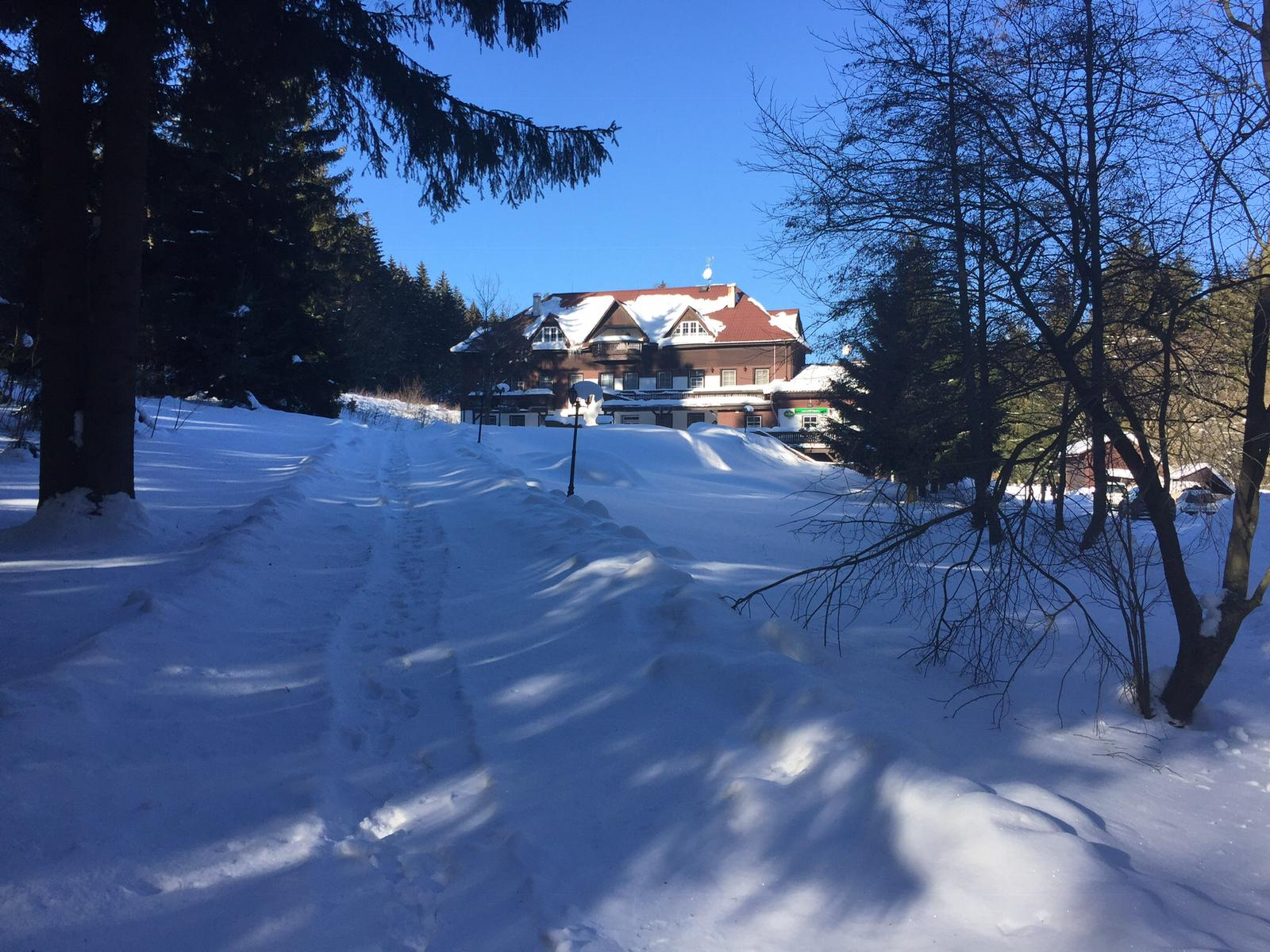 Winter retraite Sacha  Retreat Center Trimurti